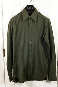BNWT Tom Ford green dress shirt! 39 IT - 15 1/2 US!