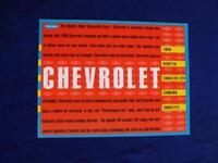 CHEVROLET SALES BROCHURE 1990 BERETTA CAVALIER Z24 CAMARO CORVETTE OPTIONS SPEC