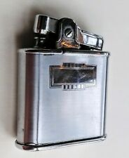 Vintage RONSON lighter WHIRLWIND  1950s 1960s Silver classic Butane fluid