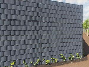 Zaun Sichtschutzstreifen 2,55€/m Windschutz-Streifen Kunststoff Gitterzaun Zaun