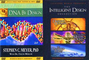 Intellligent Design:DNA-S.C.Meyer,Mystery,Darwin's Dilemma,Priv.Planet-4 Videos
