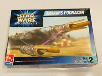 AMT ERTL Star Wars Episode 1 Anakins Podracer 1:32 Model Kit Open Box