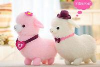Cute Alpaca Plush Toy Alpacasso Sheep Suffed Llama Doll Animal Birthday Kid Gift