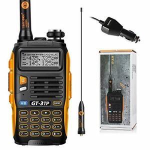 Baofeng GT-3TP Mark-III Walkie Talkie 8W/4W/1W UHF VHF 2 Way Radio Dual Band