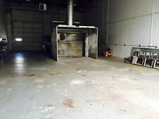 Paint booth, professional, approx. 8' x 10', complete, disassembled