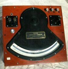 Antique-Large Weston Ammeter Model 326 Standard Ac&Dc W/Hard Cover.Nice