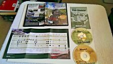Microsoft TRAIN SIMULATOR Pc Cd Rom Original MSTS base game Release - FAST POST