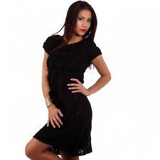 Kurzarm Damenkleider im Tuniken-Stil ohne Muster für die Freizeit