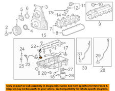 Chevrolet GM OEM 14-18 Corvette 6.2L-V8 Engine-Oil Pan Front Seal 12666993