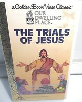 The Trials Of Jesus VHS PAL Region G Golden Book Video Classic.