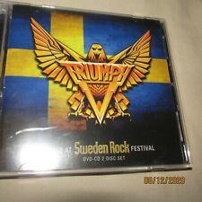 Live at Sweden Rock Festival * by Triumph (CD, Aug-2012, 2 Discs, TML Entertainm
