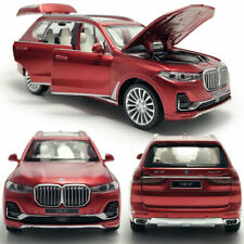 1/32 BMW X7 2019 SUV Model Car Diecast Gift Toy Vehicle Kids Pull Back Sound Red