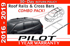 Genuine OEM Honda PILOT Roof Rails & Cross Bars COMBO PACK!     2016-2019
