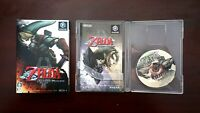 Nintendo GameCube The Legend of Zelda Twilight princess Japan NGC Game US Seller