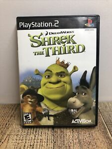 Shrek the Third (Sony PlayStation 2, 2007) PS2 - COMPLETE & TESTED!!!