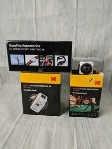 KODAK PIXPRO ORBIT360 4K VR Camera - Satellite Pack #ORBIT360_4K