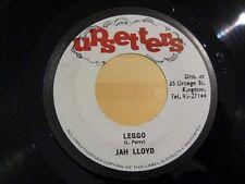 Reggae 45 JAH LLOYD & MAX ROMEO Leggo / Fire Fe The Vatican UPSETTERS Jamaica NM