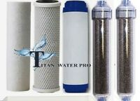 REVERSE OSMOSIS RO/DI 5 FILTERS REPLACEMENT 5 PC Set - (6 Stage) RO/DI