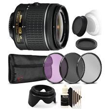 Nikon AF-P DX NIKKOR 18-55mm Lens for Nikon DSLR Cameras with Accessory Kit
