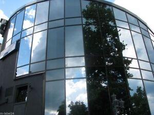 (16EUR/m²) Sonnenschutz  Fensterfolie UV Sichtschutzfolie - 45% &18% &1%