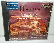 CHAN 0599 Haydn Creation Mass Schopfungsmesse Colegium Musicum Richard Hickox
