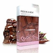 Voesh Deluxe 4 Step Pedi In A Box Chocolate Love + Cocoa Seed Butter