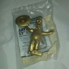 2007 The Simpsons Movie Burger King Golden Homer Collectible Toy