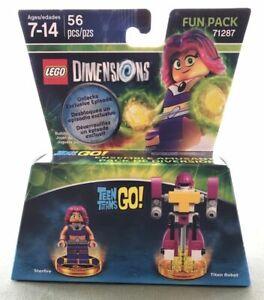 LEGO Dimensions ~ Teen Titans GO Fun Pack 71287 New Sealed Starfire Titan Robot