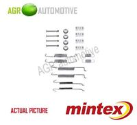 MINTEX REAR BRAKE SHOES SET FITTING KIT PIN SPRINGS GENUINE QUALITY - MBA680