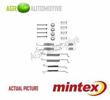 MINTEX REAR BRAKE SHOES SET FITTING KIT PIN SPRINGS GENUINE QUALITY - MBA680