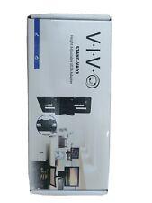 VIVO Height Adjustable VESA Adapter Accessory Bracket Kit for Individual Monitor