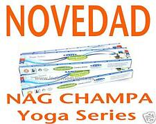 PACK 3 INCIENSO  NAG CHAMPA Yoga Series Tranquility