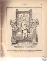 1883 Life January 18 Third Issue-Bagdad;Mayor Cleveland