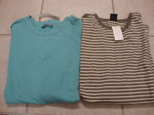 2 NWT Mens NAUTICA & APT. 9 long sleeve shirts, sz XL