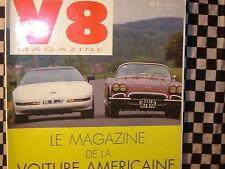 revue V8 n°1 / 1992 / CHRYSLER LE BARON / OLDSMOBILE SUPER 88 1953 / CORVETTE