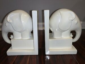 Elephant Bookends Holders (pair)