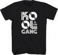 Kool & The Gang Records Logo Jazz Disco Group Soul Funk Music T Tee Shirt S-Xl