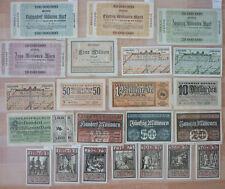 Banknoten, Städtenotgeld, alte Sammlung BOCHUM, 135 Stück             (Art.3879)