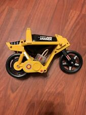 VINTAGE TOMY AIR JAMMER CYCLE YELLOW BLACK MOTORCYCLE BIKE 1980S SCRAMMER