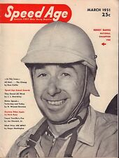 Speed Age Magazine March 1951 Henry Banks Russ Catlin 080217nonjhe