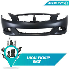 LOCAL PICKUP 2010-2013 FITS INFINITI G37 SEDAN G25 FRONT BUMPER COVER IN1000246