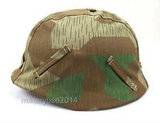 WWII GERMAN WAR MILITARY SPLINTER CAMO M35 REVERSIBLE CAMOUFLAGE HELMET COVER