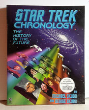 1996 Star Trek Chronology Reference Book w Photos- 330+ Pages- UNREAD