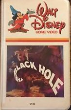 RARE -DISNEY  Black Hole (VHS) WHITE CLAMSHELL- ANTHONY PERKINS & YVETTE MIMIEUX