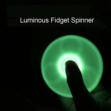 Glow In the Dark Hand Spinner Tri Fidget Focus Tool Desk Toys Stocking Stuffer