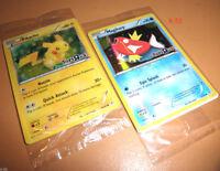 TRU exclusive POKEMON CARD Pikachu + MagiKarp toys r us 20TH ANNIVERSARY toy