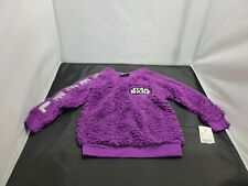 Star Wars Toddler Sweater 3T Purple Long Sleeve Pullover New 1264