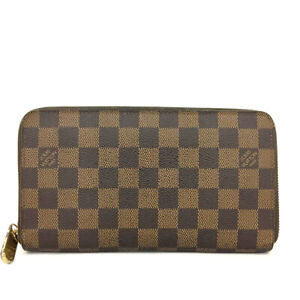 Louis Vuitton Monogram Zippy Zip Around Organizer Long Wallet /90513