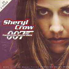 ☆ CD Single Sheryl CROW Tomorrow never dies 2-tr CARD SLEEVE JAMES BOND  ☆