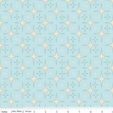 Starlight Aqua Patchworkstoffe Stoffe Kinderstoffe Patchwork Sterne Vorhangstoff